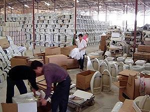 Оптовые поставки сантехники из Китая