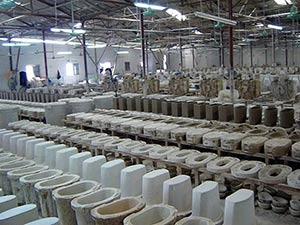 производство сантехнических изделий в Китае