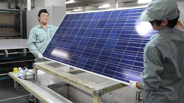 Купить солнечные батареи в Китае