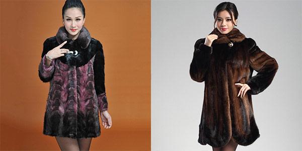 молодежные модели шуб из Китая