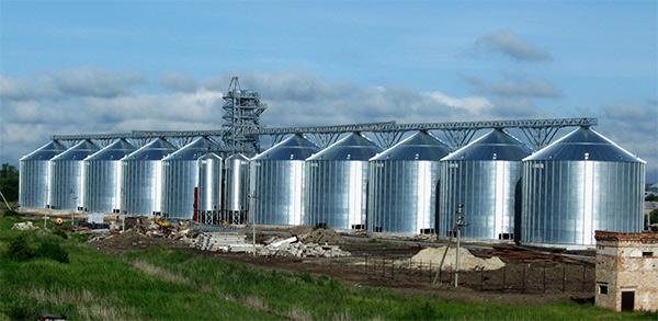 перевозка зернохранилища из Китая
