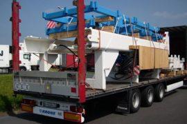 Транспортировка оборудование из Китая